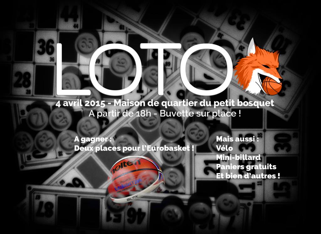 Rendez-vous le samedi 4 avril pour le loto annuel !